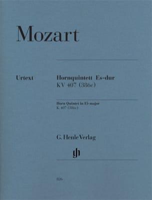Quintette pour cor en Mi bémol majeur KV 407 386c MOZART laflutedepan