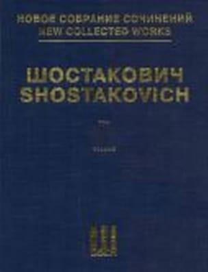 Suite Pour Orchestre de Jazz CHOSTAKOVITCH Partition laflutedepan
