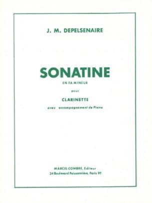 Sonatine en fa mineur - Clarinette - laflutedepan.com
