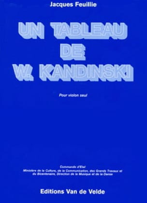 Un tableau de W. Kandinski - Jacques Feuillie - laflutedepan.com