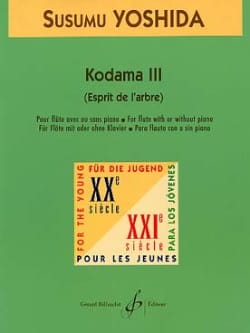Kodama 3 -Flûte Susumu Yoshida Partition laflutedepan
