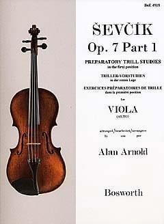 Otakar Sevcik - Opus 7 Studies / Part 1 - Alto - Partition - di-arezzo.co.uk