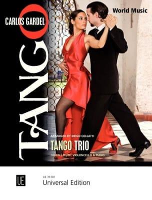 Tango Trio Carlos Gardel Partition Trios - laflutedepan