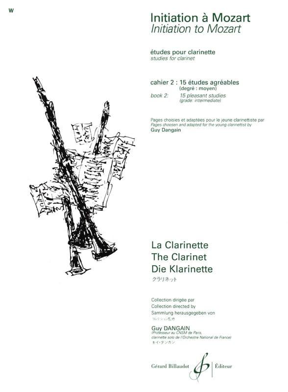 Initiation à Mozart - Cahier 2 - laflutedepan.com