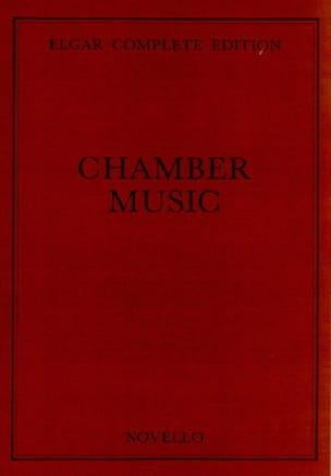Complete Chamber Music - ELGAR - Partition - laflutedepan.com