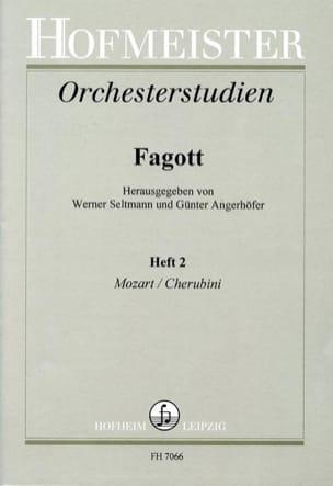 Orchesterstudien - Fagott - Heft 2 laflutedepan