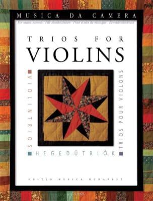 Trios pour violons Partition Trios - laflutedepan