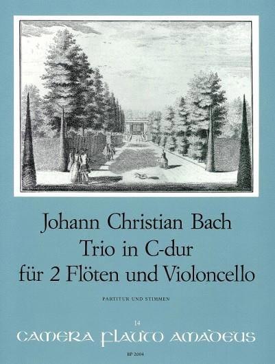 Trio C-Dur -2 Flöten Violoncello - Partitur + Stimmen - laflutedepan.com