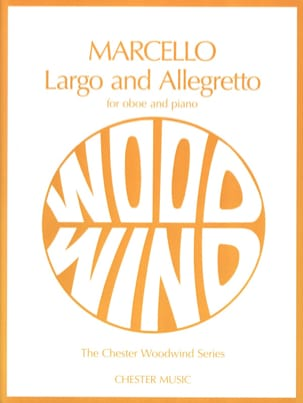 Largo and Allegretto - Oboe Piano Benedetto Marcello laflutedepan