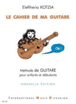 Le Cahier de ma Guitare Eleftheria Kotzia Partition laflutedepan