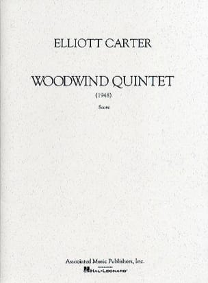 Woodwind Quintet - Score Elliott Carter Partition laflutedepan