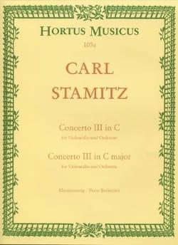 Concerto n° 3 en do majeur - Violoncelle STAMITZ laflutedepan