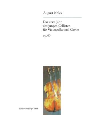 Das Erste Jahr des Jungen Cellisten Op. 63 August Nölck laflutedepan