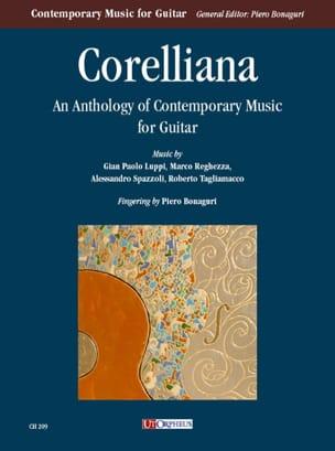 Corelliana : Anthology of contemporary music for guitar - laflutedepan.com