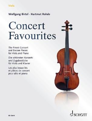 Concert Favourites compositeurs Divers Partition laflutedepan