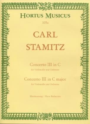Concerto n° 3 en do majeur - Violoncelle - STAMITZ - laflutedepan.com