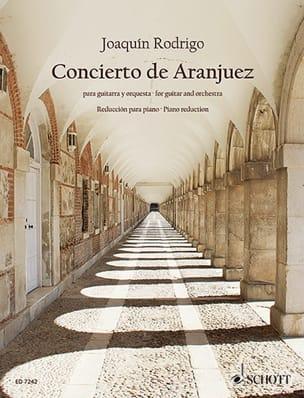 Concierto de Aranjuez - guitare piano RODRIGO Partition laflutedepan