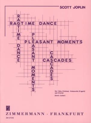 Ragtime dance - Pleasant moments - Cascades JOPLIN laflutedepan
