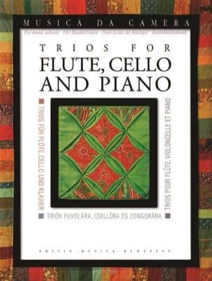 Trios pour Flûte, Violoncelle et Piano Partition laflutedepan
