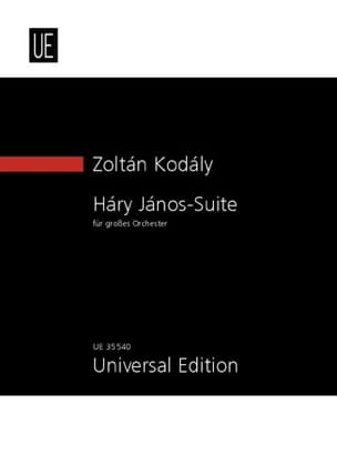 Hary Janos Suite - Conducteur KODALY Partition laflutedepan
