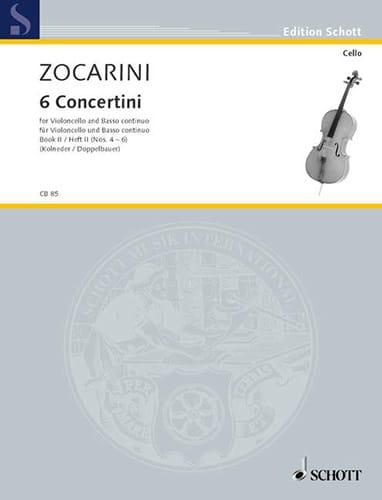 6 Concertini, Heft 2 n° 4-6 - Matteo Zocarini - laflutedepan.com