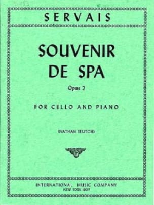 Souvenir de Spa - Adrien-François Servais - laflutedepan.com