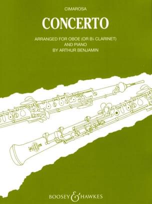 Concerto CIMAROSA Partition Hautbois - laflutedepan
