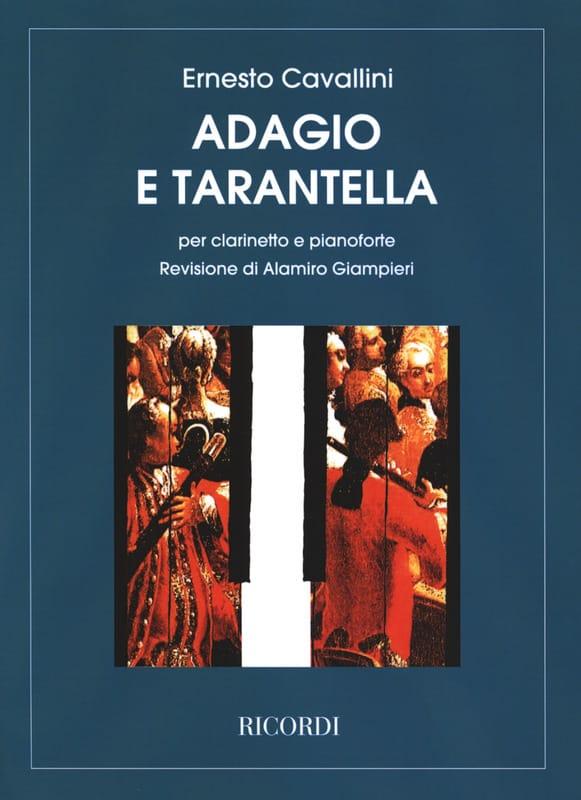 Adagio e Tarantella - Ernesto Cavallini - laflutedepan.com