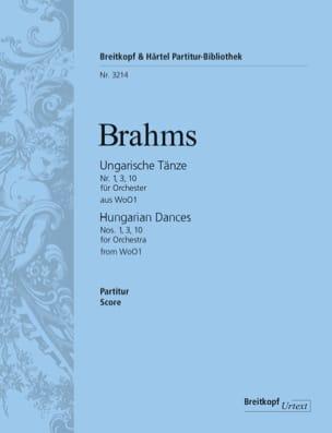 Ungarische Tänze, Nr. 1, 3, 10 - Orchester BRAHMS laflutedepan