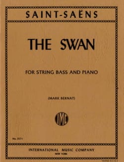 The Swan - String bass SAINT-SAËNS Partition laflutedepan