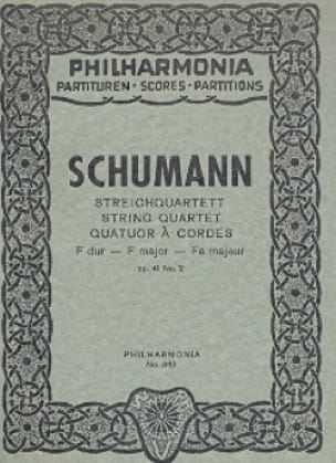 Streichquartett F-Dur op. 41 n° 2 - Partitur - laflutedepan.com