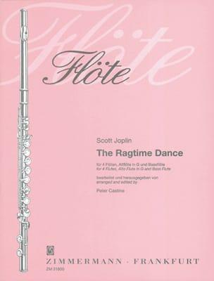 The Ragtime Dance - 4 Flöten Altflöte Bassflöte - Partitur + Stimmen laflutedepan
