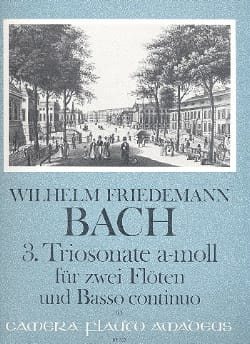 Triosonate Nr. 3 a-moll -2 Flöten Bc - laflutedepan.com