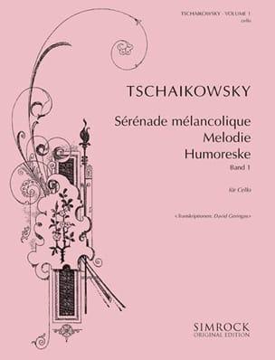 Tschaikowsky for Cello, Volume 1 TCHAIKOVSKY Partition laflutedepan