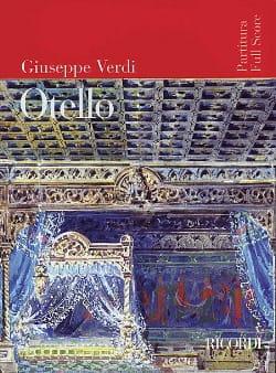 Otello VERDI Partition Grand format - laflutedepan