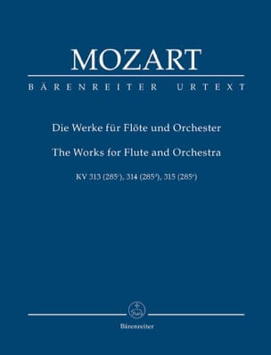The Works for Flute and Orchestra MOZART Partition laflutedepan
