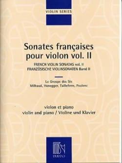 Sonates françaises pour violon - Volume 2 Partition laflutedepan