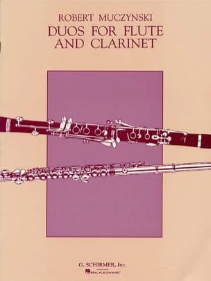 Duos for Flute and Clarinet, Op. 24 Robert Muczynski laflutedepan