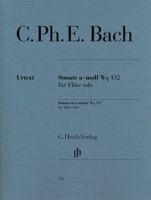 Sonate pour flûte en la mineur Wq 132 laflutedepan
