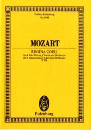 Regina Coeli KV 276 - MOZART - Partition - laflutedepan.com