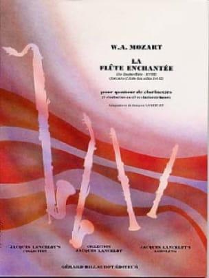 La Flûte enchantée - Quatuor clarinettes - MOZART - laflutedepan.com