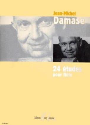 24 Etudes pour flûte - Jean-Michel Damase - laflutedepan.com