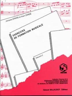 Exercices de FM - Débutant 2 Zardé Alain / Erard Jacques laflutedepan