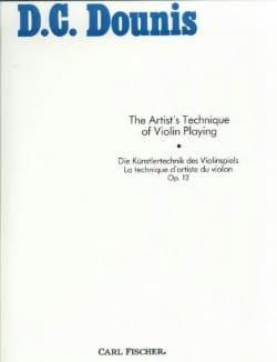 La Technique D'artiste du Violon Op. 12 D. C. Dounis laflutedepan