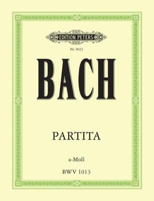 Partita a-moll BWV 1013 Johann Sebastian Bach Partition laflutedepan