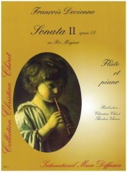 Sonata n° 2 op. 58 en ré majeur - Flûte piano DEVIENNE laflutedepan