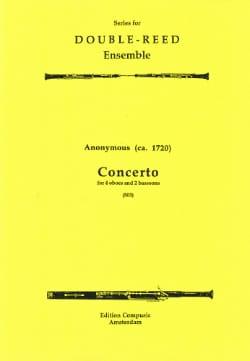 Concerto -4 oboes 2 bassoons - Score + parts - laflutedepan.com