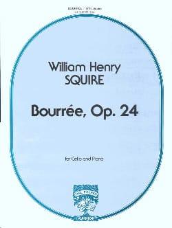 Bourrée, Opus 24 Squire W. H. Partition Violoncelle - laflutedepan