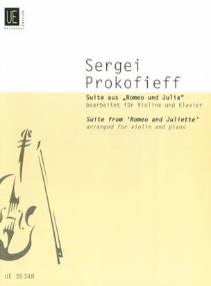 Serge Prokofiev - Suite Romeo y Julieta - Partition - di-arezzo.es