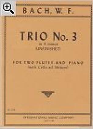 Trio n° 3 in A minor -2 Flutes piano - laflutedepan.com